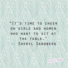 As a female MBA student, I applaud Sheryl Sandberg! #rolemodel  'Lean In'…