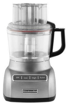 KitchenAid KFP0922CU 9-Cup Food Processor with Exact Slice System - Contour Silver *** You can find out more details at the link of the image.