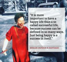 Its more important to have a happy life. Miriam Defensor Santiago, Filipino Funny, Tagalog Quotes, Motivational Quotes, Inspirational Quotes, Just Be Happy, I Love Reading, Badass Quotes, Some Words