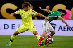 En Houston, Copa América: Corona le dio la igualdad a los Mexicanos frente a la selección de Venezuela, que ganaba con gol de Velázquez