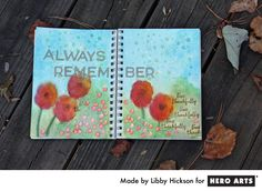 art journal page by Libby