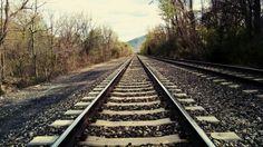 At the railroad