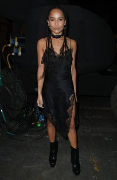 """Zoe Kravitz, born in 1988 Zoe Kravitz has made a major name for herself, despite having some very famous folks for parents -- her mom is actress Lisa Bonet and her father is rocker Lenny Kravitz. With roles in """"X-Men: First Class"""" and """"Divergent"""" already under her belt, Zoe has already made a major mark on Hollywood. Not only has she conquered the acting world, she's also ventured into the realm of music and fashion The 27-year-old fronted a group called Lolawolf, has posed for Alexander…"""