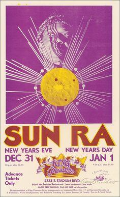 31.12.1973 - 1.1.1974; sun ra; usa, ann arbor; king pleasure; (db)