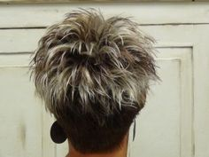 Back of  Trendy Haircut For The Summer.
