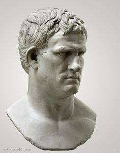 Resultado de imagen de roman sculpture face