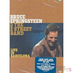 SPRINGSTEEN BRUCE & THE E STREET BAND-LIVE IN BARCELONA (DVD/2 DISC/OCT 02)