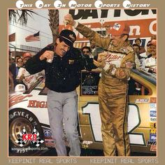 This Day In Motor Sports History:  February 14,1988 - Bobby Allison became the oldest driver to win NASCAR's Daytona 500.