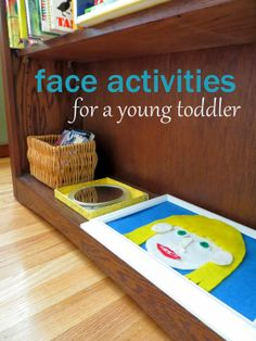 """Naming the Parts of the Face"" Activity for a Young Toddler (from Itty Bitty Love)"