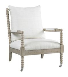 I am determined to put this style of chair in my house somewhere. Love this chair! Lillian August for Hickory White Living Room Jamine Chair Spindle Chair, Spool Chair, Fine Furniture, Furniture Decor, Living Room Furniture, Painted Furniture, Furniture Upholstery, Luxury Furniture, Hickory White