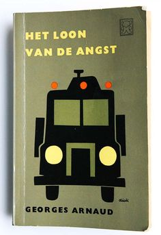 Vintage Dick Bruna Book Cover illustration, 60s Retro Graphic Design