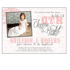 baptism invitations : Cheap baptism invitations - Invitations Design Inspiration - Invitations Design Inspiration