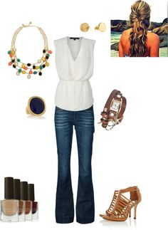 """Work Chic"" by megglett on Polyvore......even though I don't work outside of the home, I would wear this"