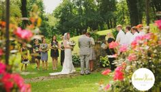 The Rose Garden at Historic Shady Lane (Photograph by SummerHouse Photography)