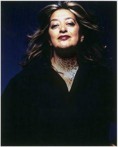 Zaha Hadid tatuada