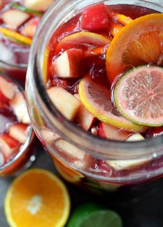 Non-alcoholic sangria -- from 38 Things To Drink Instead of Booze (Buzzfeed)