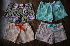 pajama short pattern
