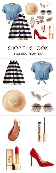 """""""Enjoy Your day!"""" by ayuhariyani on Polyvore featuring Chicwish, Miss Selfridge, Toast, Christian Dior, Urban Decay, Charlotte Tilbury, Yves Saint Laurent and Michael Kors"""