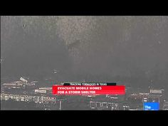 holy crap wtf: Watch a tornado toss truck trailers 50 feet into the air