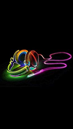 """""""Virtual Rainbowed Headphones...Listen To Some Imaginary Soundscapings"""" !... http://samissomar.wix.com/soundscapings"""