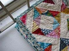 Triangle squares. (no pattern)