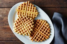 This is a brilliant idea :: Socca Waffles, a recipe on Food52