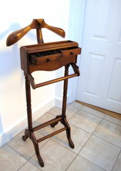 Gentleman's Valet (aka wooden clothes stand)