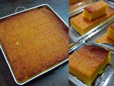 Baking Recipes, Snack Recipes, Dessert Recipes, Snacks, Malaysian Dessert, Malaysian Food, Tapioca Cake, Bolu Cake, Cassava Cake