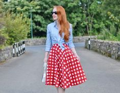 Red Gingham Skirt Day, 2016
