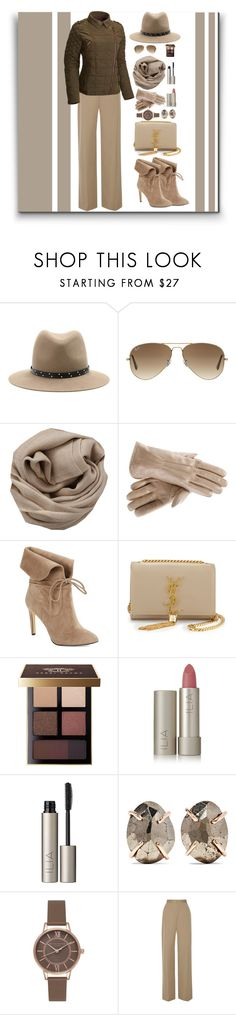 """""""Organized"""" by marionmeyer ❤ liked on Polyvore featuring rag & bone, Ray-Ban, Brunello Cucinelli, 424 Fifth, Yves Saint Laurent, Bobbi Brown Cosmetics, Ilia, Melissa Joy Manning, Olivia Burton and The Row"""