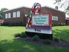 The Candy Cane Christmas Shoppe in Archbold, Ohio, is a year-round, must-see retail location.