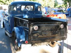 1950 Dodge Pilothouse Pickup -- Dad had a couple of these when we were young!!