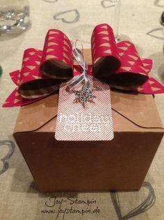 #Geschenkbox #Stampinup