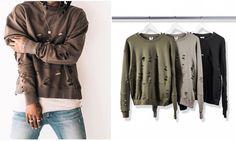 KMO hip hop harajuku mass effect korean men clothes high street fashion killa kanye pullovers crewneck ripped sweat sweatshirt(China (Mainland))