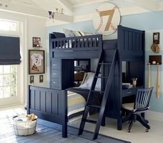 Camp Twin Bunk Bed System Cool Boy S Roomcool