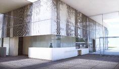 LED-gevel voor vernieuwde Nekker in Mechelen / BURO II & ARCHI+I & VPT VERSTEEG