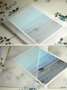 20pcs Korea Vintage Blank Translucent vellum envelopes DIY Multifunction lovely fashion Gift