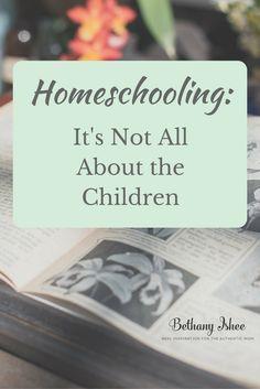 Homeschooling: It's