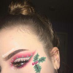 unreal christmas eyeshadow and makeup idea. – trendslove unreal christmas eyeshadow and makeup idea. unreal christmas eyeshadow and makeup idea. Christmas Makeup Look, Holiday Makeup Looks, Winter Makeup, Summer Makeup, Cute Makeup, Party Makeup, Hair Makeup, School Looks, Make Up Brush