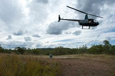 Scenic helicopter flights over Cobbold Gorge and Robin Hood Station are available