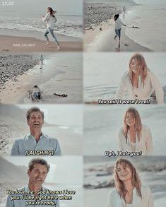 Greys Anatomy Couples, Greys Anatomy Funny, Greys Anatomy Cast, Grey Anatomy Quotes, Greys Anatomy Episodes, Greys Anatomy Characters, Grey's Anatomy Doctors, Meredith And Derek, Kara Danvers Supergirl