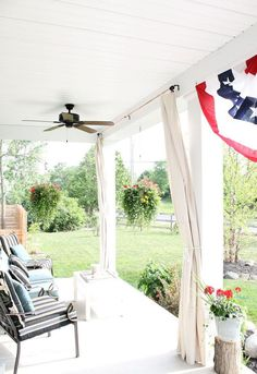 Add shade and privacy to your porch for only $10.00.