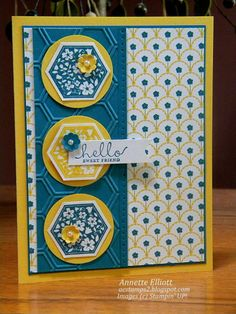 FMS#99: Hello Sweet Friend by AEstamps2 - Cards and Paper Crafts at Splitcoaststampers
