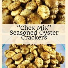 These Chex Mix Seasoned Oyster Crackers are the perfect snack, delicious, easy, and inexpensive to make. I love the traditional Chex mix flavor. Chex Mix Flavors, Chex Mix Recipes, Recipes Appetizers And Snacks, Savory Snacks, Snack Recipes, Cooking Recipes, Easy Snacks, Yummy Snacks, Desserts