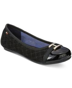 3bbed759 Tommy Hilfiger Girls' or Little Girls' Kayleigh H Charm Quilted Dress Shoes  & Reviews - Kids' Shoes - Kids - Macy's