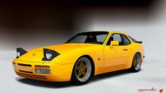 Porsche 944 - my 2nd favorite.