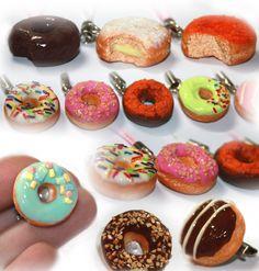 Doughnut Charms - Details 2 by ~kalos-eidos-skopein on deviantART