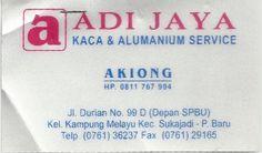 Adi Jaya (Kaca Alumunium Servis)