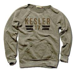 Ryan Kesler Officially Licensed NHLPA Anaheim Women's MANIAC Sweatshirt S-XL Kesler Font D