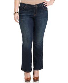 e11ac9c771154 Jessica Simpson Plus Size Rockin  Curvy Bootcut Jeans